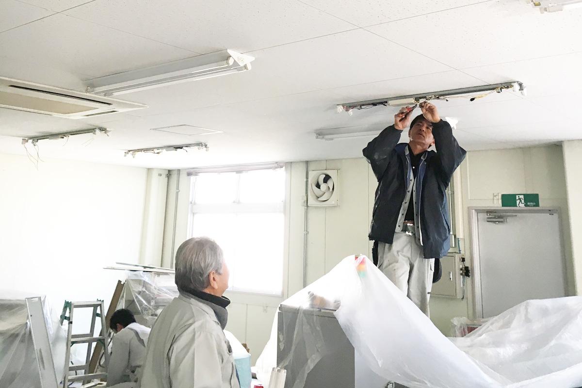 K社様 LED照明更新工事