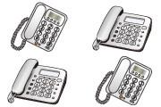 電話機を増設する場合、どんな電話機でもつなげられますか?